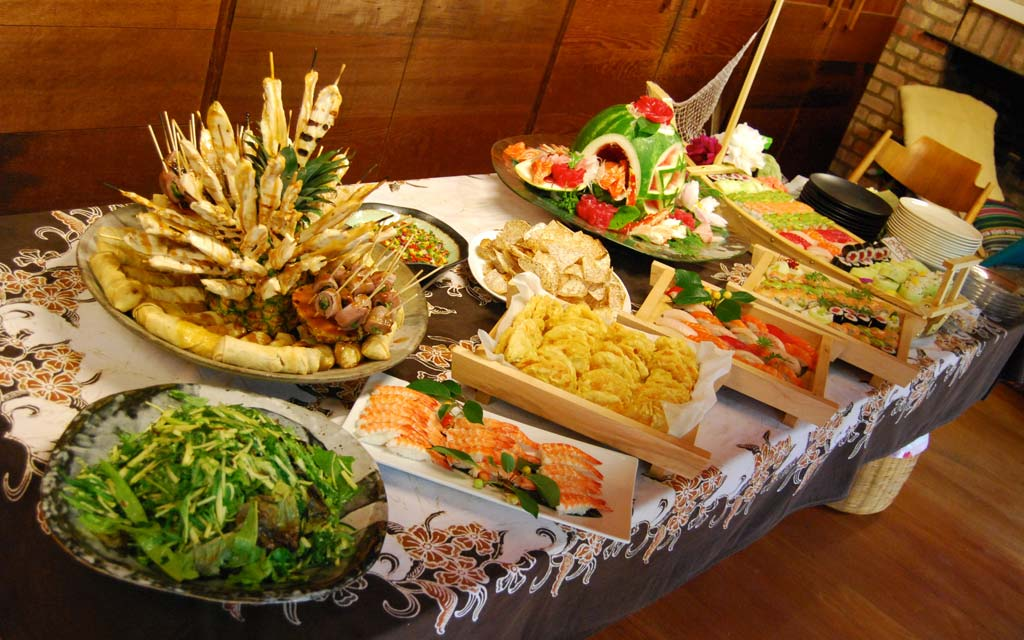 Catering Table Setup & Catering | Bistro Dragon