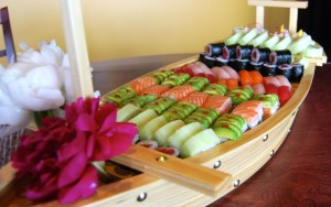 Catering Sushi Boat